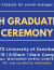 The fourteenth graduation ceremony